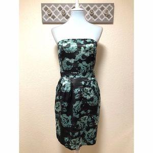 Banana Republic Satin Strapless Dress, Size 6 NWT